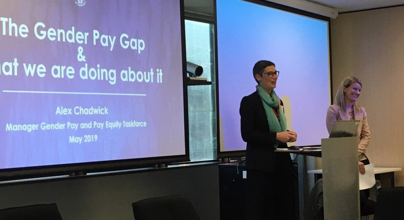 Seminar 1: Gender Pay Gap update with Alex Chadwick