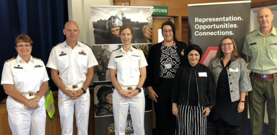 NZDF WIN AGWN event speakers
